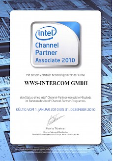 Intel Channelpartner 2010