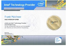Intel Technology Provider 2012 expert
