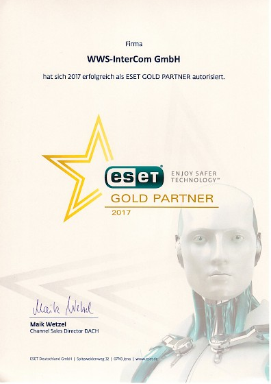 2017 ESET Gold Partner